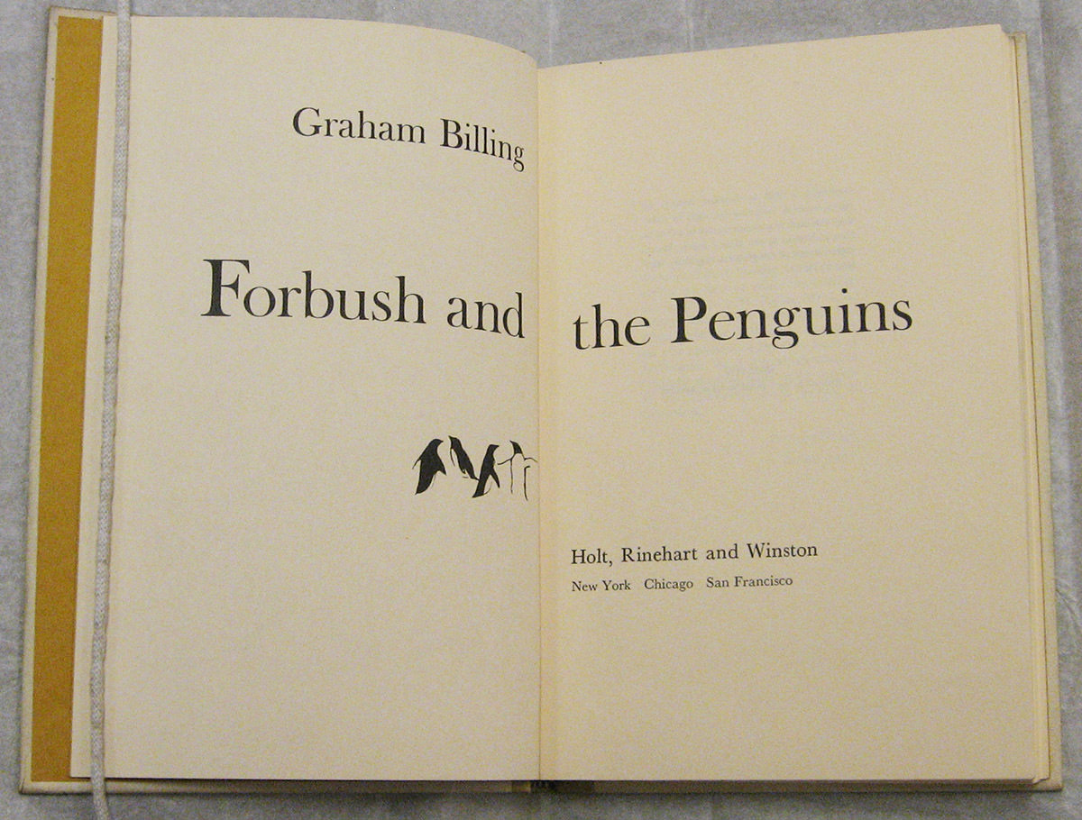 Forbush and the Penguins