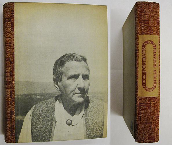 Portraits and Prayers; Stein, Gertrude, 1934